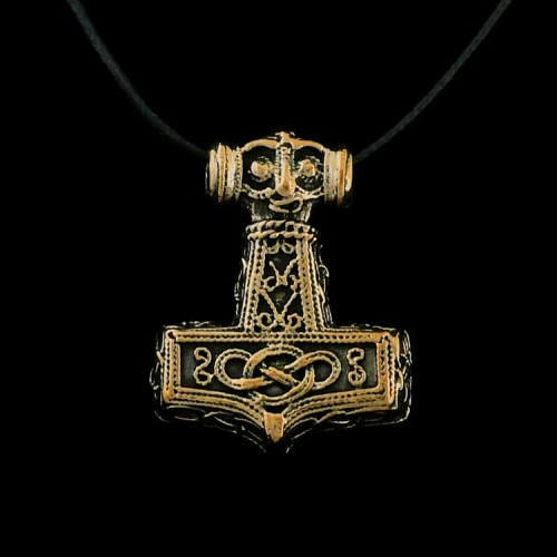 Hanger Mjölnir (Hamer van Thor) Brons
