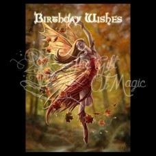 Autumn Fairy Postkaart