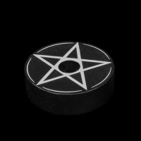 Pentagram Spellkaars Kandelaar