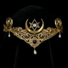 Rituele Kroon Unicursal Hexagram