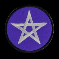 Patch Pentagram Paars
