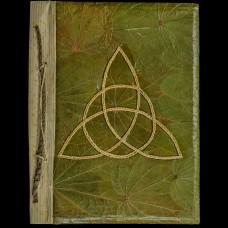 Book Of Shadows Bladeren en Triquetra Groen