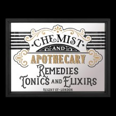 Spiegelbord Chemist and Apothecary