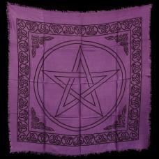 Altaarkleed Pentagram 90 x 90 cm