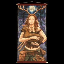 Lady of the Wildwood Banner
