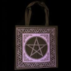 Linnen Tasje Pentagram