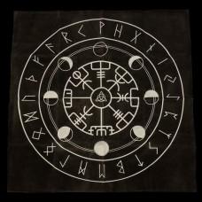 Runenkleedje Vegvisir 50 x 50 cm