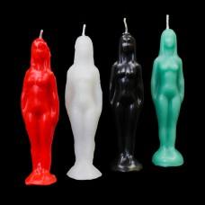 Figuurkaars Vrouw (meerdere kleuren beschikbaar)