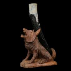 Drinkhoorn Standaard Fenrir Wolf