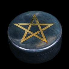 Doosje Pentagram Zeepsteen