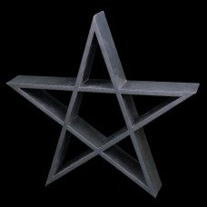 Pentagram Wandkastje