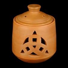 Smudge Pot Triquetra