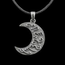 Hanger Artemis Maansikkel Zilver