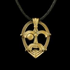 Bronzen Hanger Odin