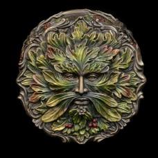 Doosje Green Man