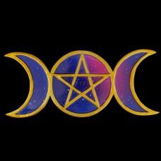 Wierookhouder Drievoudige Maan