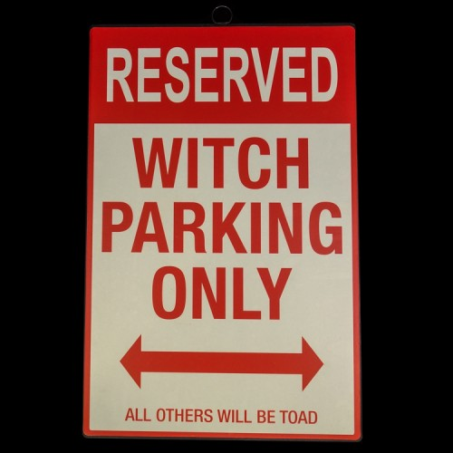 Bordje Witch Parking