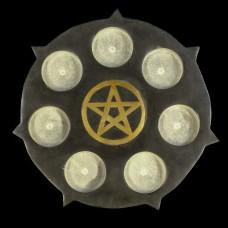 Waxinehouder Pentagram