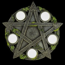 Waxinehouder Pentagram Theban