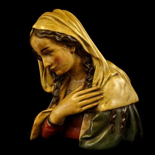 Grote Vintage Buste Maria