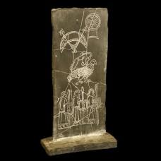 Brough of Birsay Symbol Stone Replica