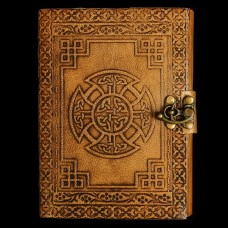 Leren Book Of Shadows Keltisch Kruis
