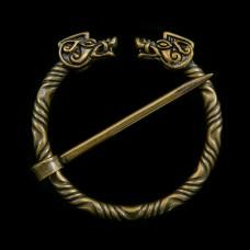 Bronzen Fibula Zwijnen
