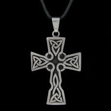 Hanger Keltisch Kruis Zilver Groot