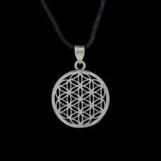 Hanger Flower of Life Zilver