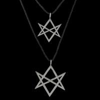 Hanger Unicursal Hexagram (meerdere maten beschikbaar)