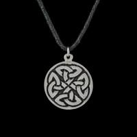 Hanger Keltische Knoop Zilver