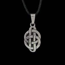 Hanger Keltische Knoop Huwelijk Zilver
