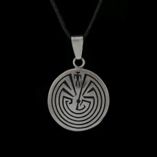 Hanger Man in Labyrint Zilver