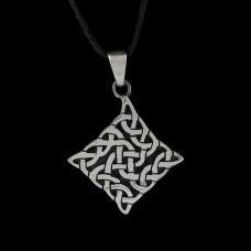 Hanger Keltische Knoop Zonnewiel Zilver
