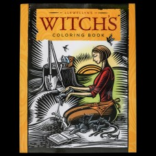 Witch's Coloring Book