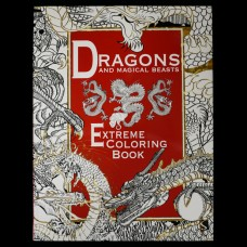 Dragons and Magical Beasts - Extreme Coloring Book