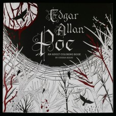 Edgar Allan Poe - An Adult Coloring Book