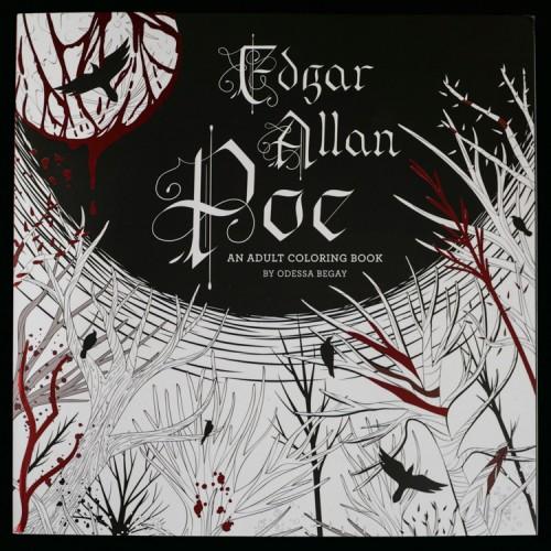 Edgar Allan Poe - An Adult Coloring Book