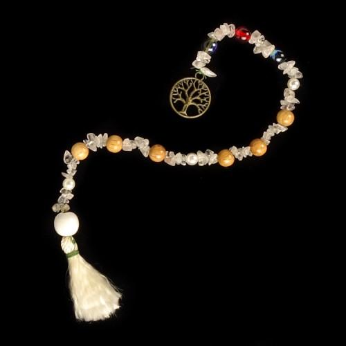 Goddess Prayer Beads Tree of Life Brons