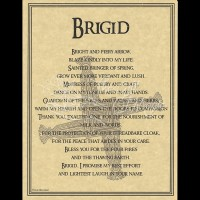 Brigid Mini-Poster