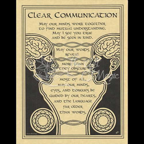 Clear Communication Mini-Poster