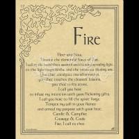 Element Fire Mini-Poster