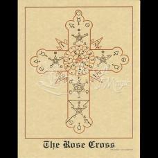 Rose Cross Mini-Poster