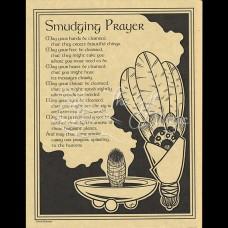 Smudging Prayer Mini-Poster