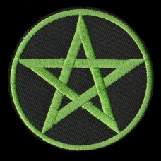 Patch Pentagram Groen