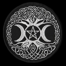 Patch Levensboom Pentagram