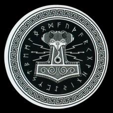 Sticker Mjölnir en Runen