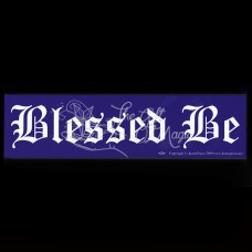 Bumpersticker Blessed Be