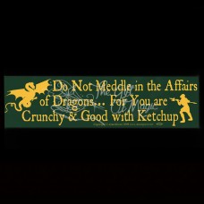 Bumpersticker Affairs of Dragons