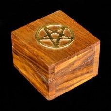 Doosje Pentagram Ingelegd